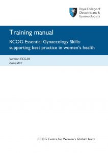 rcog essential gynaecology skills training manuals andrew welsh