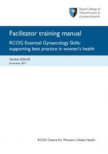 EGS course facilitator manual front cover