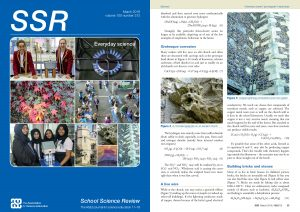 SSR March 2019 front cover page and page 35
