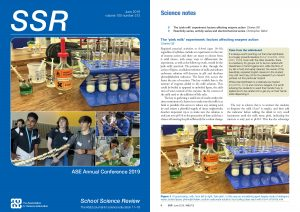 SSR June 2019 front cover page and page 6