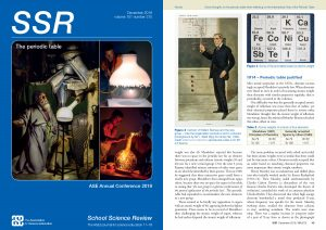 SSR December 2019 front cover page and page 49